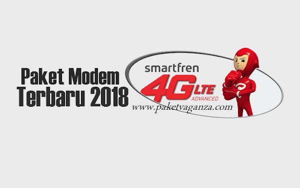 Cara Daftar Paket Modem Smartfren Unlimited 1 Bulan Terbaru 2018