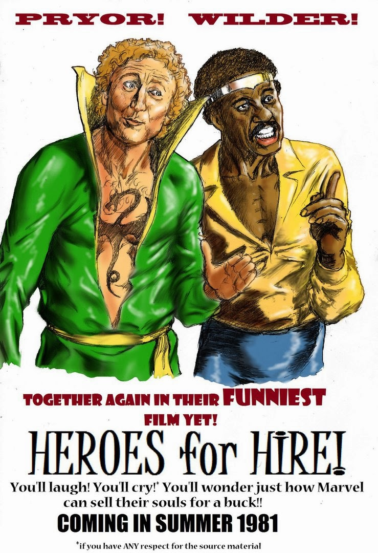 The Dork Review Rob S Room Heroes For Hire By Nick Perks