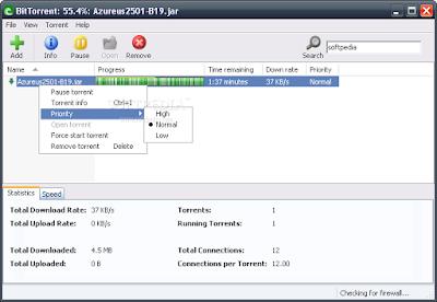 تحميل برنامج تحميل الملفات يوتورينت الشهير مجانا uTorrent