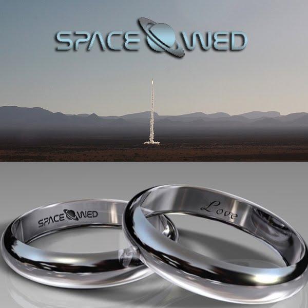Space Wed rings