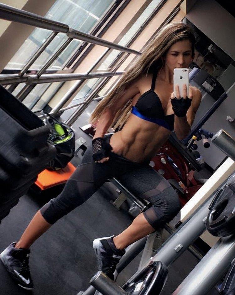 Fitness Model Marcela Rivas