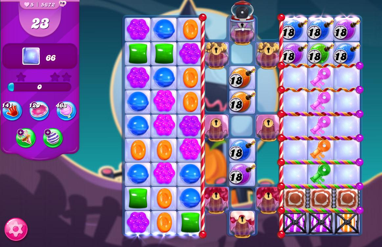 Candy Crush Saga level 5672