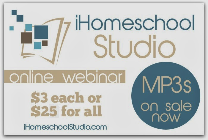 iHomeschool Studio MP3s: A Homeschool Convention While You Do the Dishes {The Unlikely Homeschool}