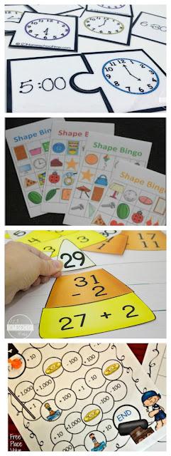 kindergarten-first-grade-math-games