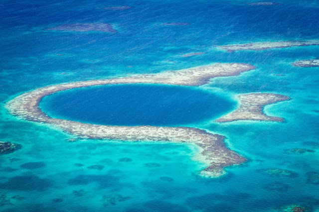 grand blue hole, belize