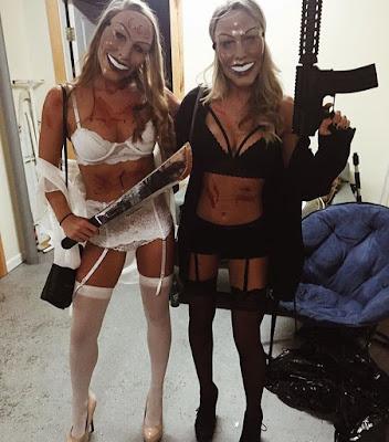 Disfraz Halloween Purga amigas