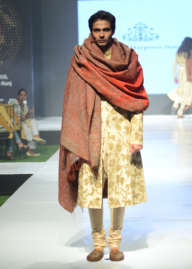 Rimple and Harpreet Narula Outfit on Model