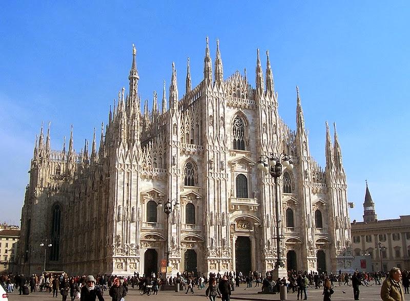 義大利米蘭大教堂 - 歐洲旅遊景點 / 歐洲觀光景點: 義大利米蘭大教堂
