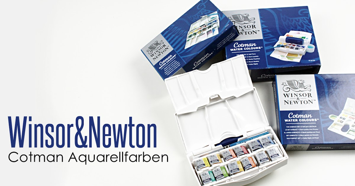 Winsor Newton Cotman Water Colour Paints  Half Pans
