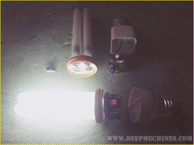 Cara Perbaikan Lampu Hemat Energi (LHE) dengan Alat Bekas Lampu Lainnya