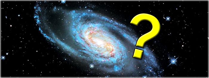 como sabemos o formato da nossa galáxia?