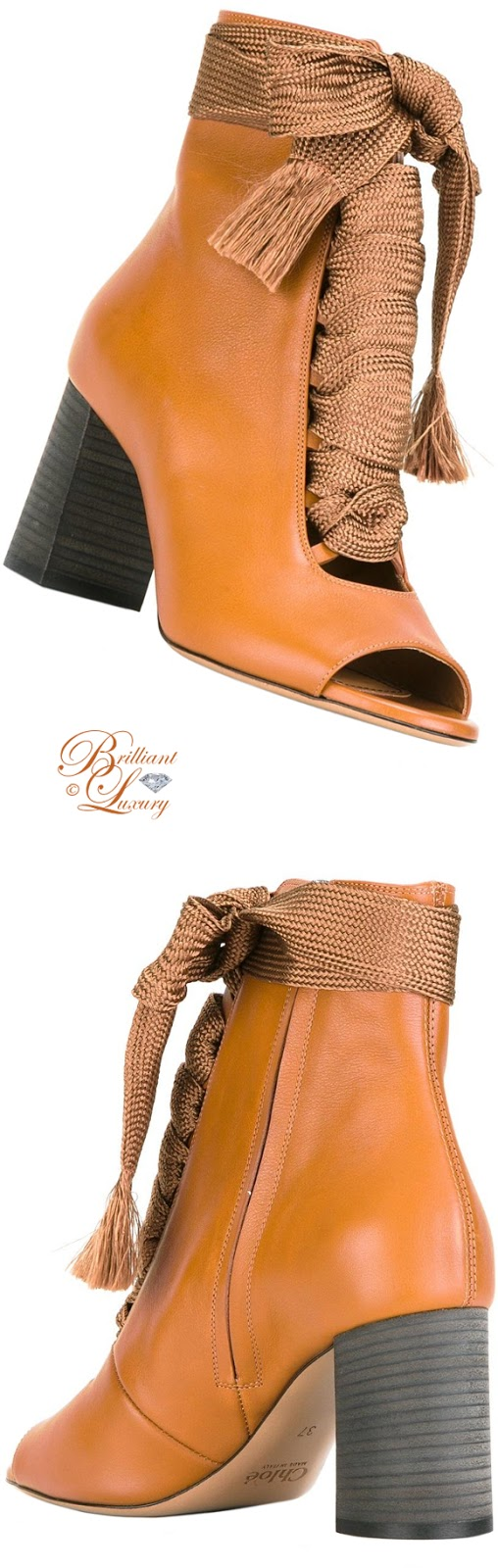 Brilliant Luxury ♦ Chloé Harper Booties