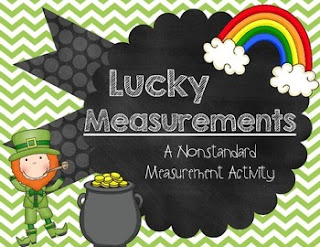 Lucky Measurements FREEBIE ~ a nonstandard measurement activity