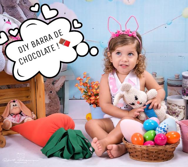 BARRA DE CHOCOLATE PERSONALIZADA - PÁSCOA
