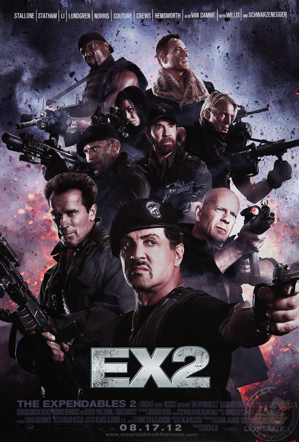 Poster de The Expendables 2