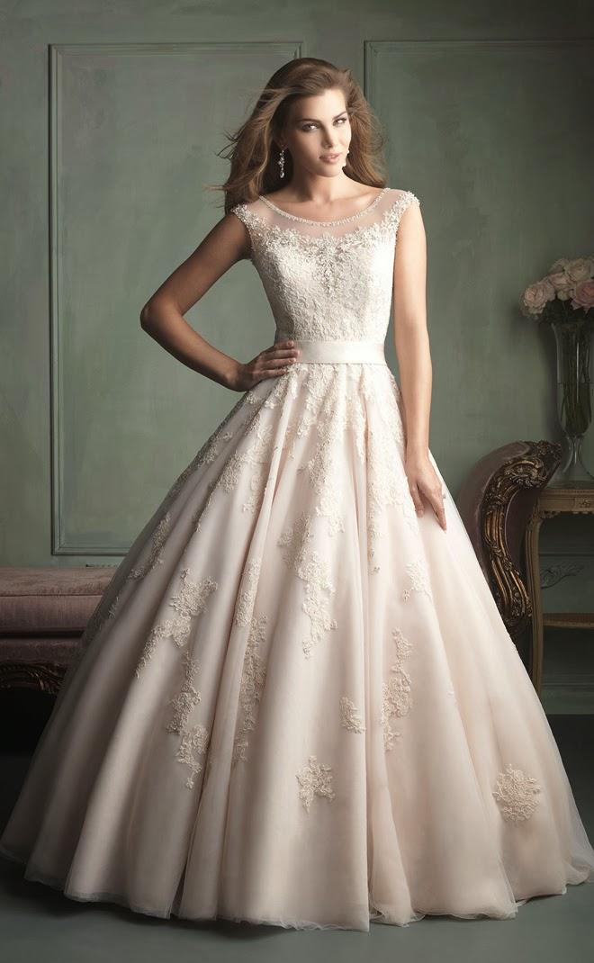 Allure Bridals Spring 2014 - Part 2 - Belle The Magazine