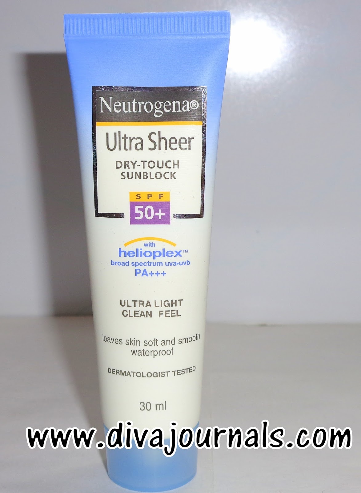 Neutrogena Ultra Sheer Dry Touch Sunblock Spf 50 Review Diva Journals Sunscreen Spf50 Face