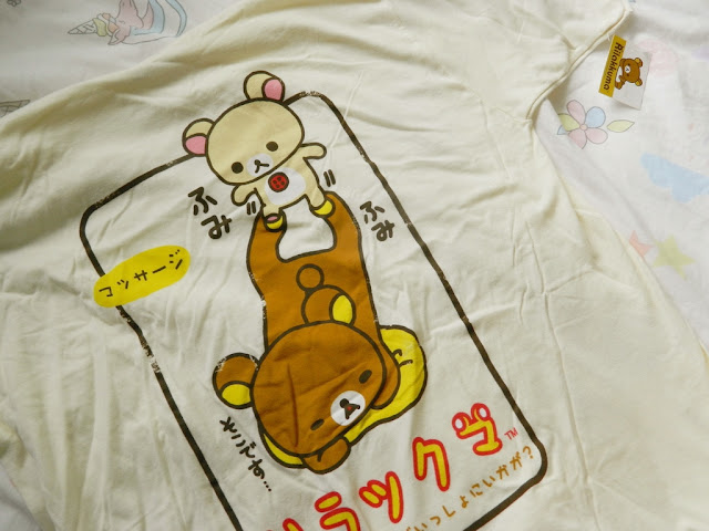 Doki Doki by Japan Crate, Rilakkuma t-shirt,