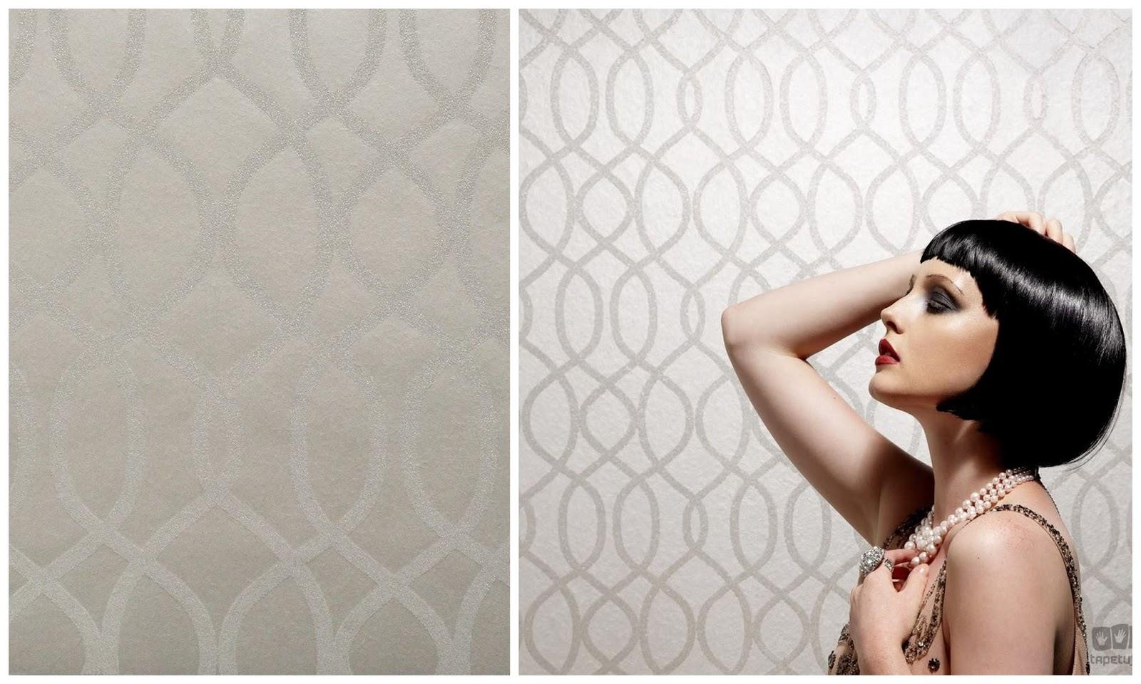 tapeta w stylu glamour z tapetuj.pl