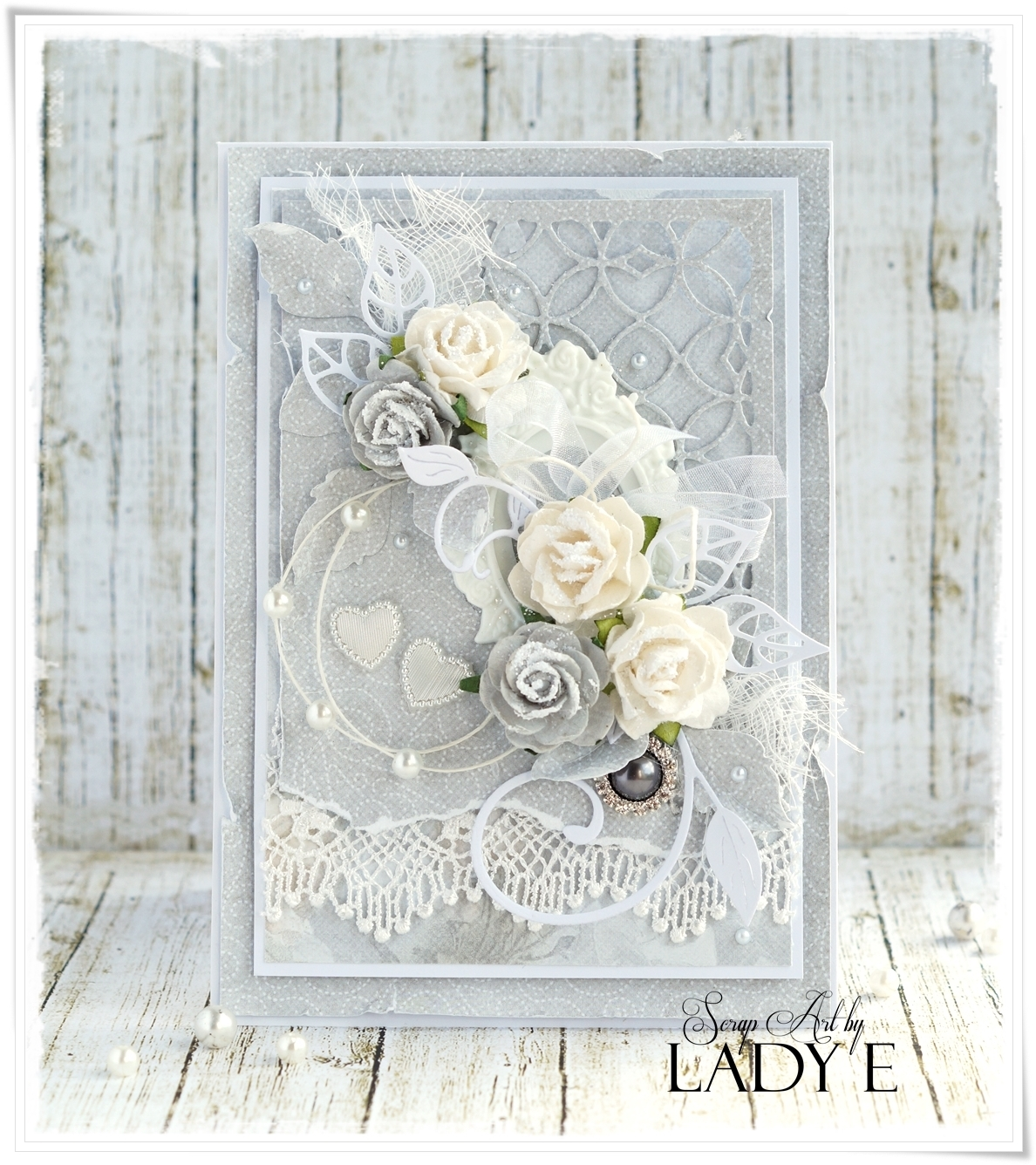 wild orchid crafts shabby chic wedding cards. Black Bedroom Furniture Sets. Home Design Ideas