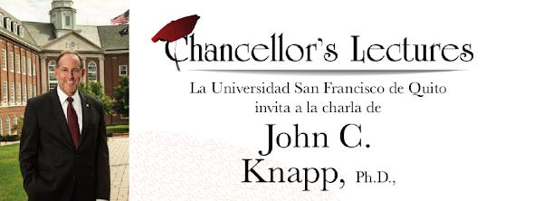 John C. Knapp, presidente de Washington & Jefferson College visitará la USFQ