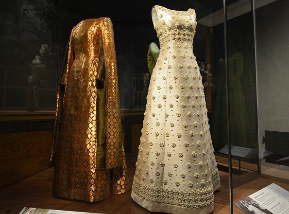 Queen Margrethe attended opening of Queen's Wardrobe special exhibition in the Old Town of Aarhus