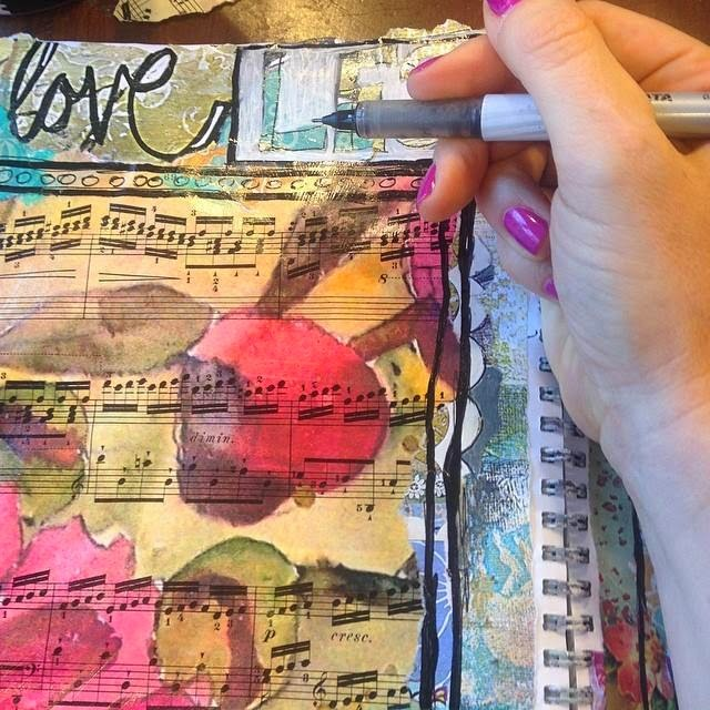 art journal by SchulmanArt
