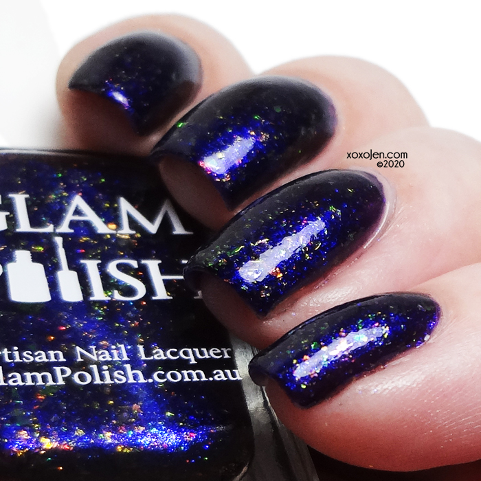 xoxoJen's swatch of Glam Polish I Happen To Be Very Biteable, Pal.