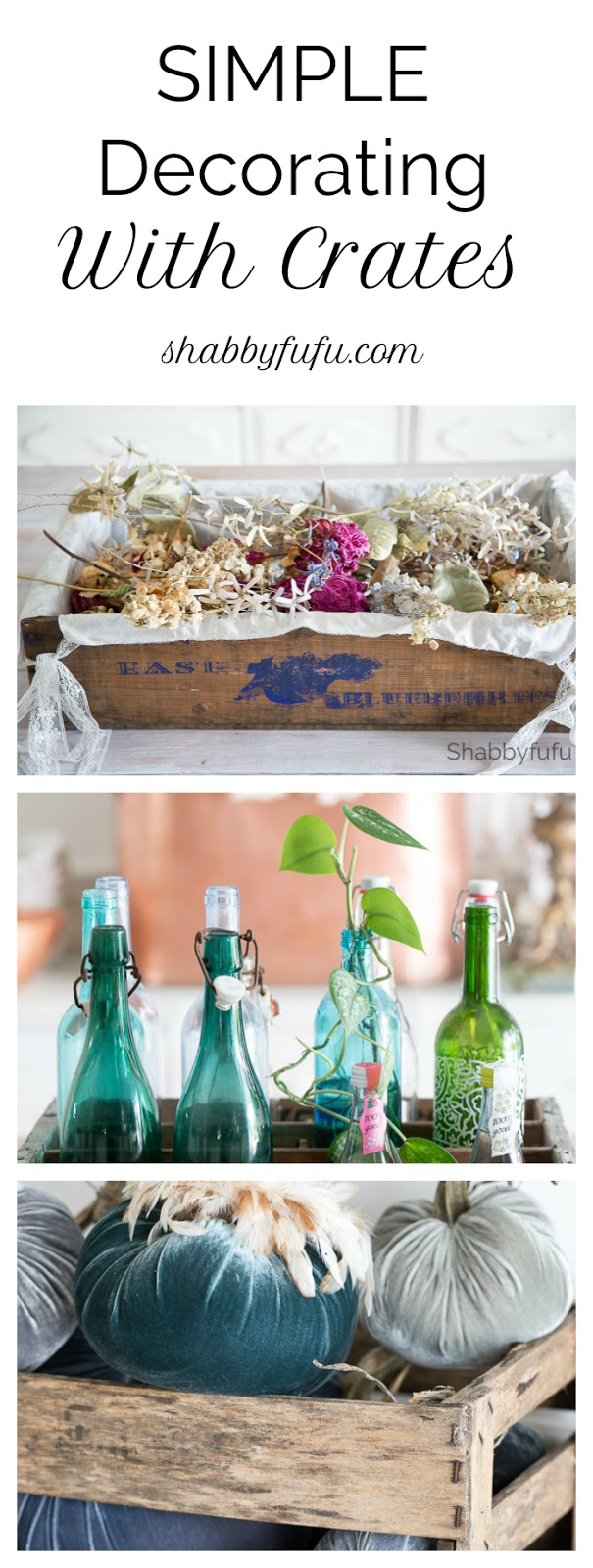 Simple Foolproof Ways To Decorate With Crates