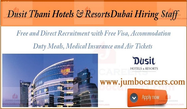 Dubai hotel jobs with salary and benefits, 5 star hotel jobs with accommodation,
