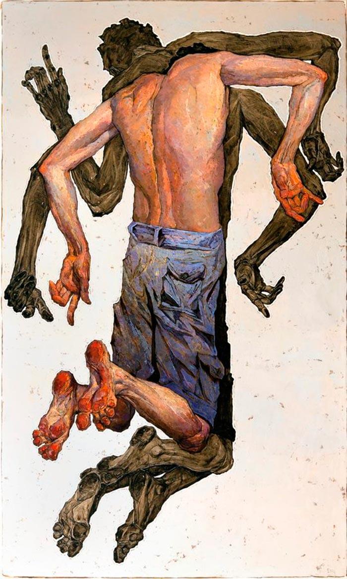 Pintura y expresividad de Denis Sarazhin, artista destacado