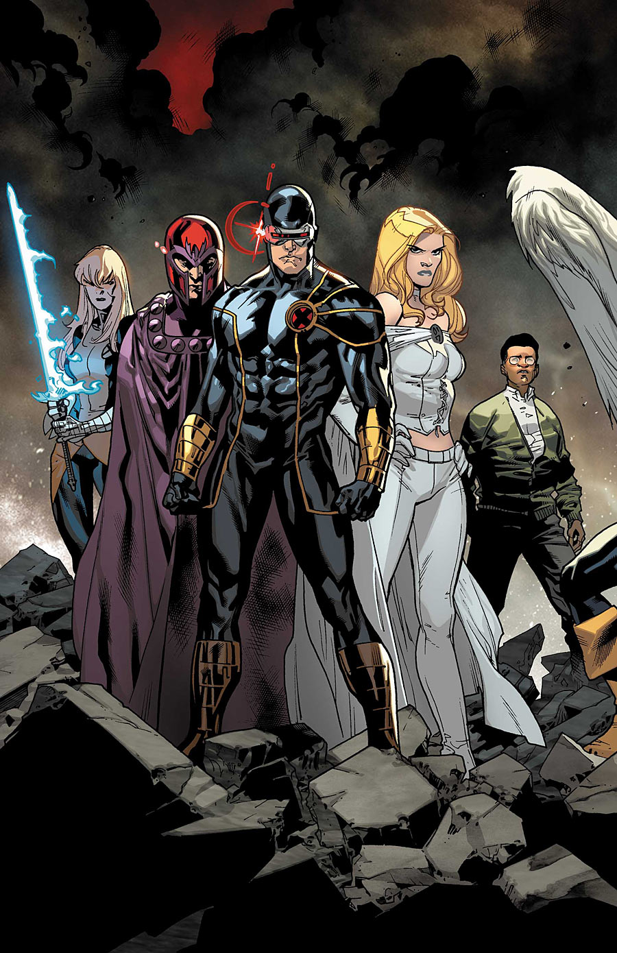 X Men Cyclops And Emma Frost Uncanny X-Men: All-New...