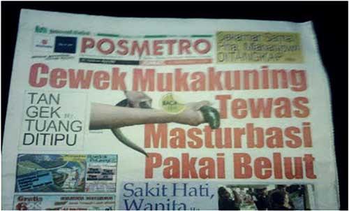 judul koran lucu