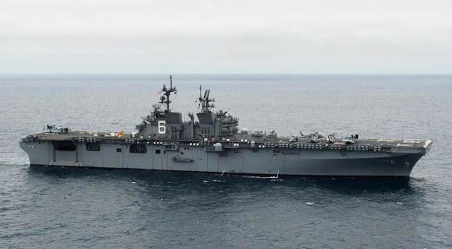 USS América (LHA-6) Aircraft Carrier – Estados Unidos