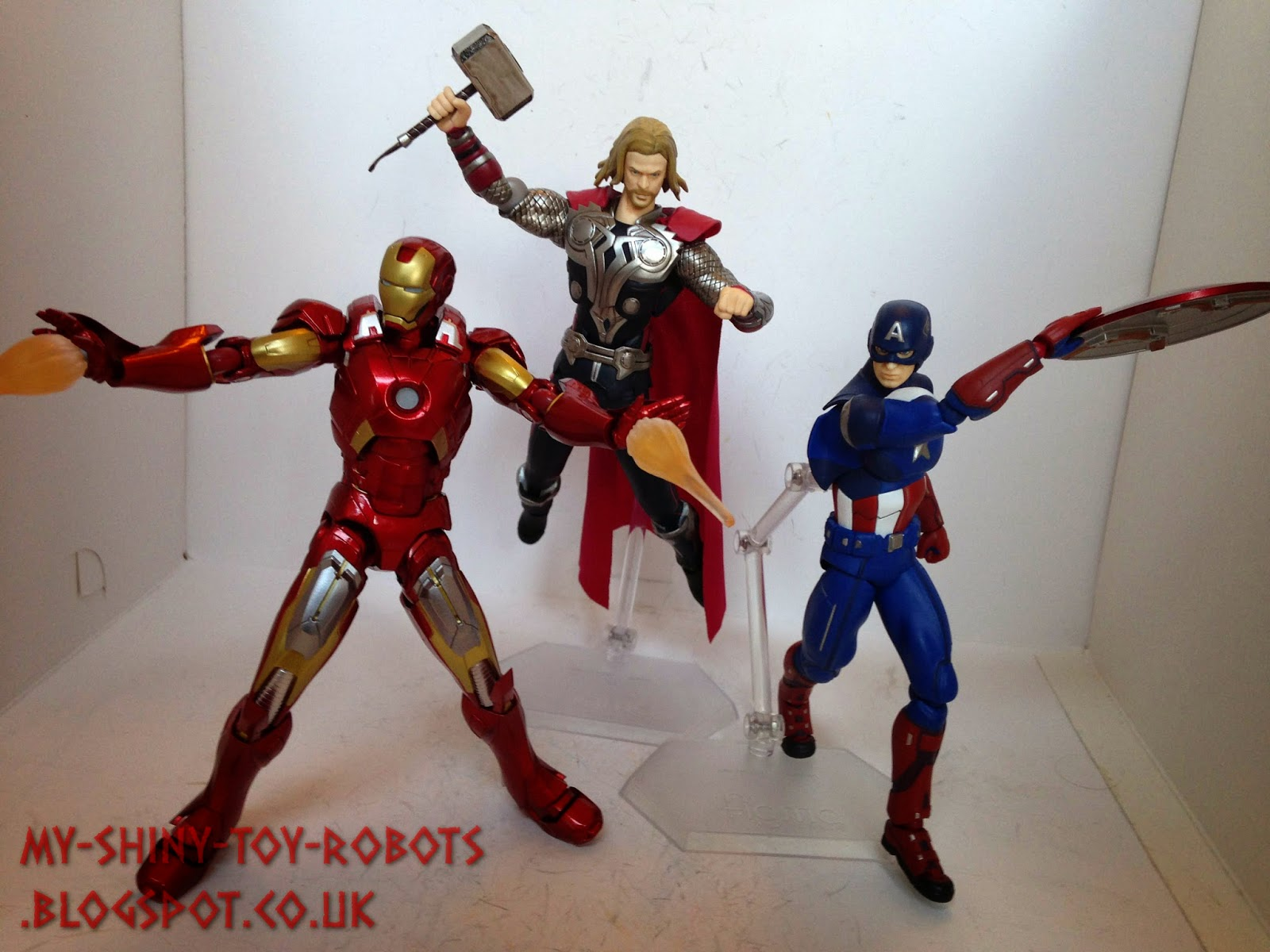The Figma Avengers (so far)
