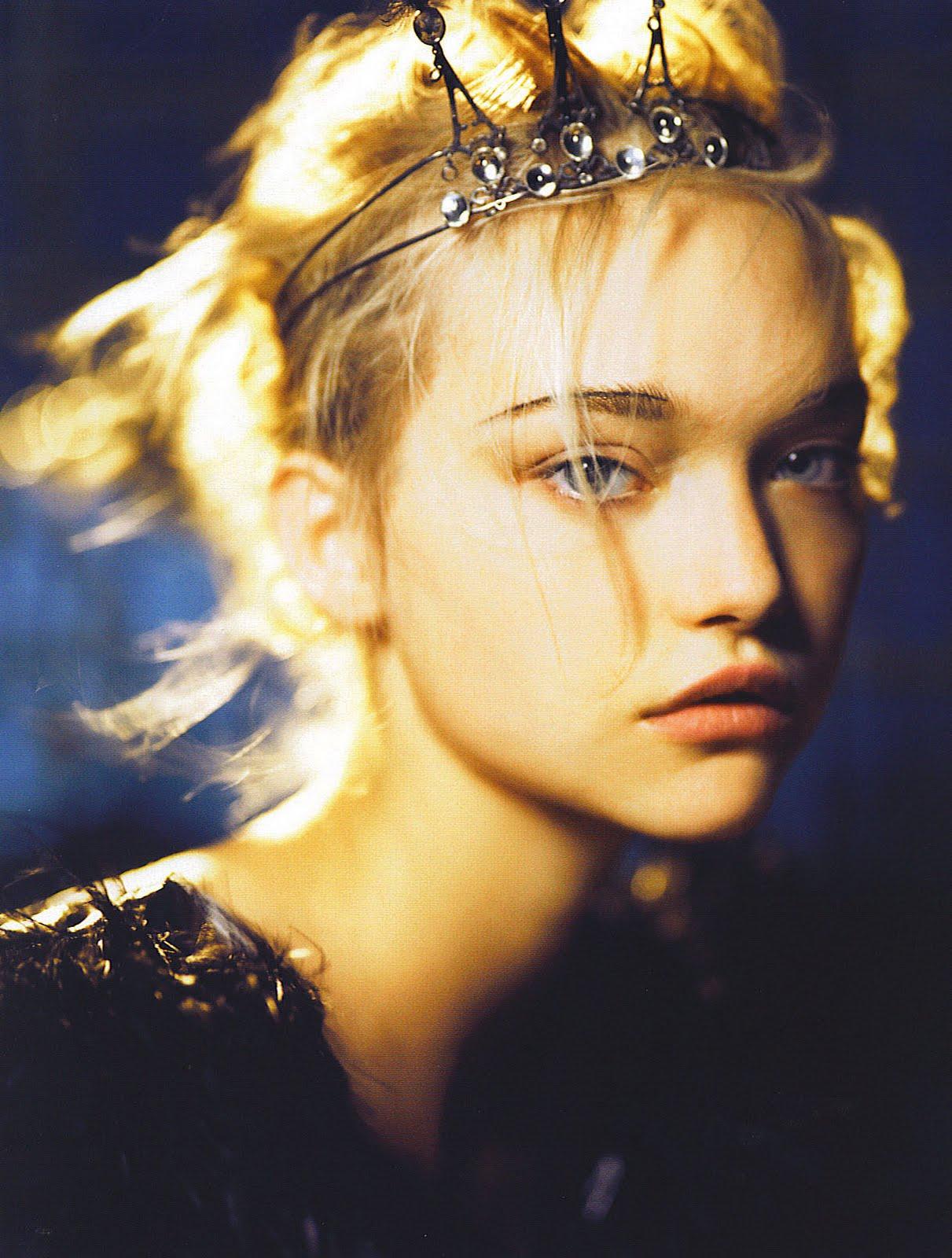 Gemma Ward in Vogue India
