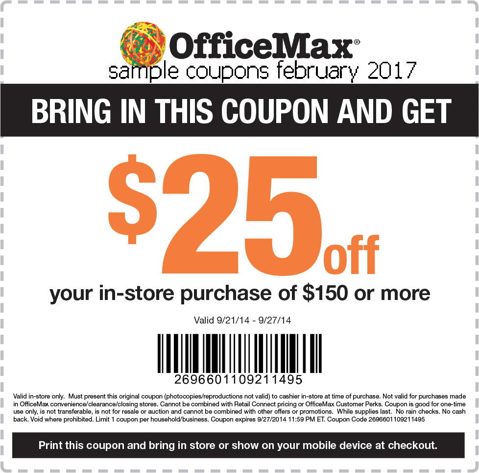 Officemax print center coupon code