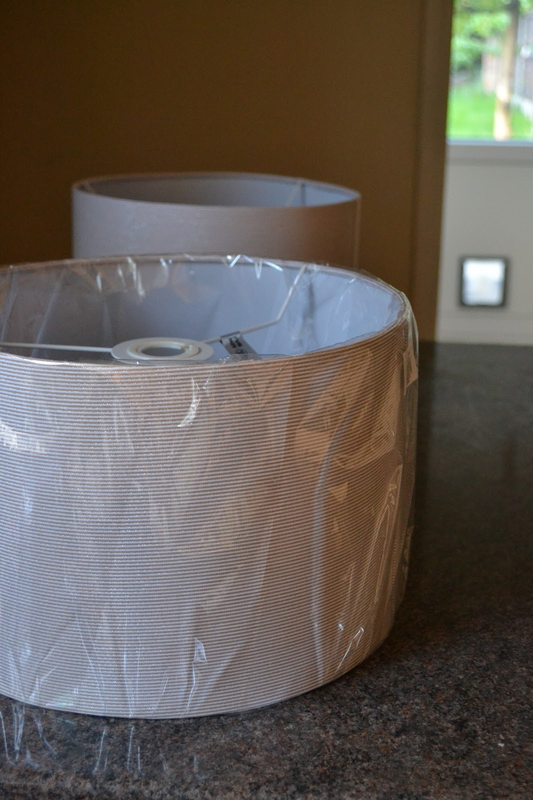 Kitchen Table Sewing How To Cover A Lamp Shade In 30 Minutes