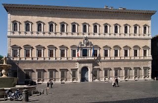 Photo of the Palazzo Farnese