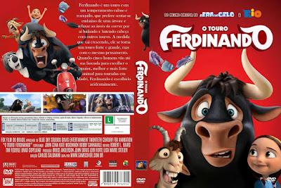 Filme O Touro Ferdinando (Ferdinand) DVD Capa