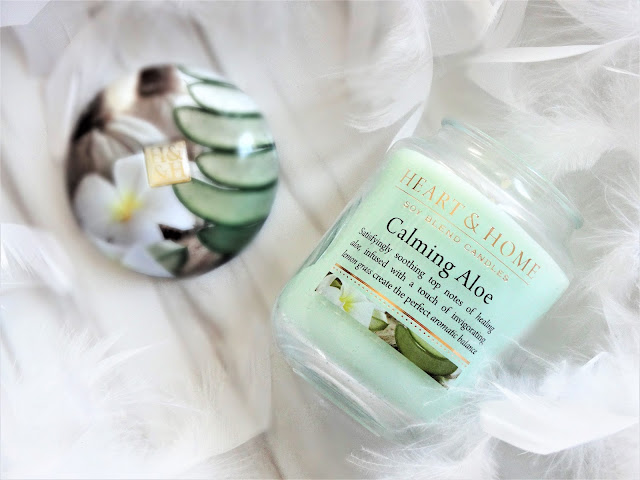 avis Calming Aloe (Douceur d'Aloe) de Heart & Home, blog bougie, candle review, candle blog, avis bougie heart and home, bougie parfumee