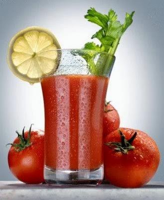 Minuman Sehat Jus Tomat Kemangi