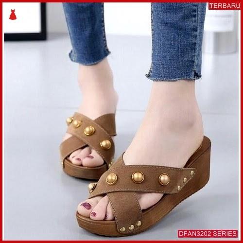 DFAN3202S101 Sepatu Mr112 Wedges Cantik Wanita Wedges Murah BMGShop