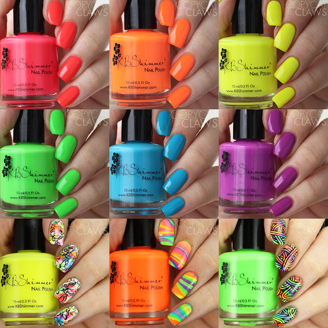KBShimmer All The Bright Moves Collection Summer 2017