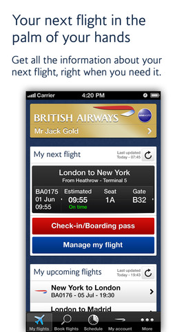 passbook for iPhone