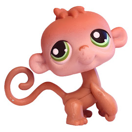 Littlest Pet Shop Small Playset Monkey (#373) Pet