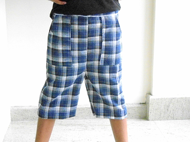 Sewing Patterns for Girls Dresses and Skirts: Boy\'s Shorts Sewing ...