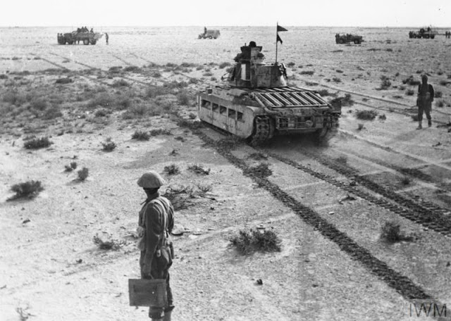 24 December 1940 worldwartwo.filminspector.com Matilda Tank Western Desert