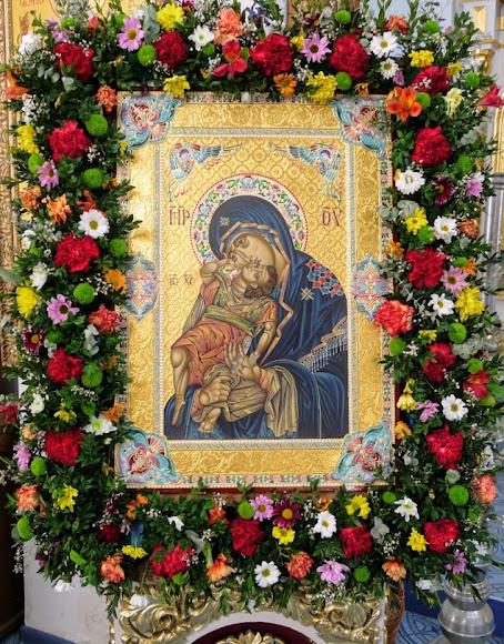 Образ Орельской Божией Матери «Взыграние Младенца»