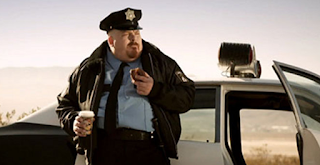 police donut eat at holywood movies